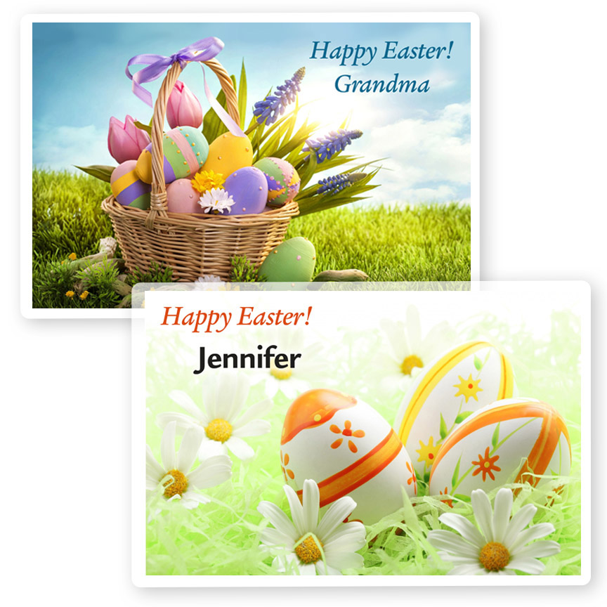 Easter placemats portrait gift bags home personalized gifts easter placemats easterplacemats negle Images